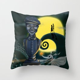Client Commission Simpkins Son By Topher Adam Throw Pillow