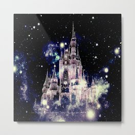 Celestial Palace Amethyst Metal Print