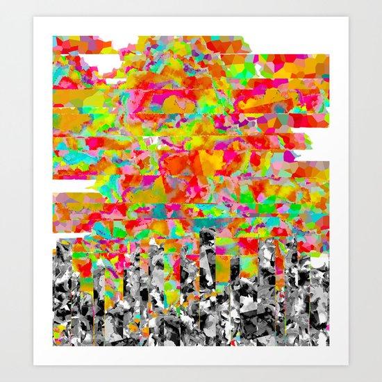 Metropolis Atmosphere Art Print