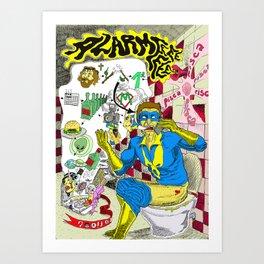 Alarme Art Print