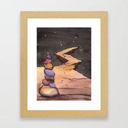 Mystical, Magical Path to Anywhere Framed Art Print