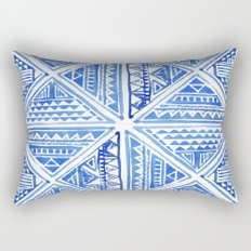 Geo tile art Rectangular Pillow