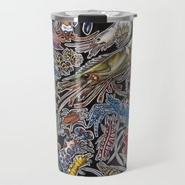 Prawns, gambas and shrimps for ocean lovers, marine biologists and scuba divers Travel Mug