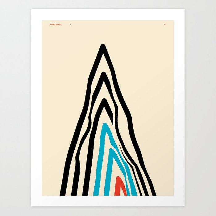 GOODBYE MOUNTAIN 2 — Matthew Korbel-Bowers Art Print
