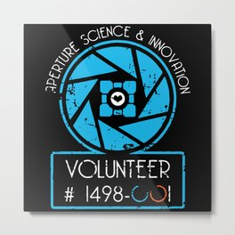 aperture science and innovations Metal Print