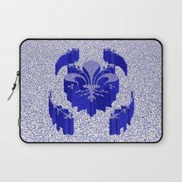 Florentine Blue Garden Laptop Sleeve