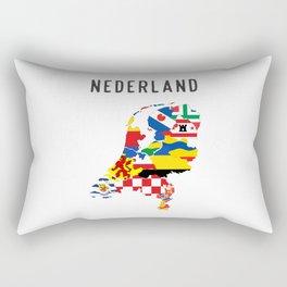 netherlands country symbol Rectangular Pillow