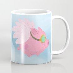 Flying Pink Pig Mug