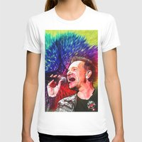 u2 T-shirts featuring U2 / Bono 3 by JR van Kampen