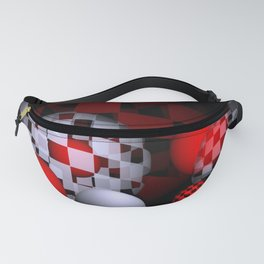 inside and outside Fanny Pack