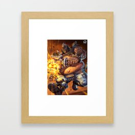 roadhog watch Framed Art Print