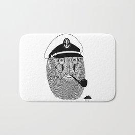 Captain Monkey Pants Of The Sea Bath Mat