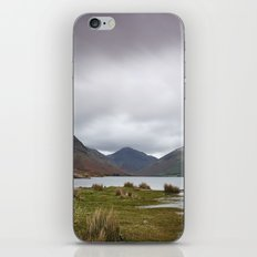 Rain clouds over Scafell and Great Gable. Wastwater, Cumbria, UK. iPhone Skin