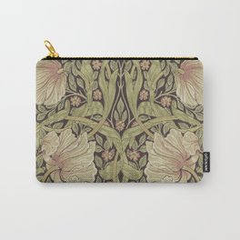 William Morris Pimpernel Art Nouveau Floral Pattern Carry-All Pouch