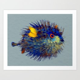 Mr. Puff Art Print