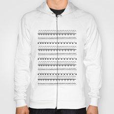 White&Black pattern Hoody