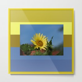 Sunflower Color Palette Metal Print