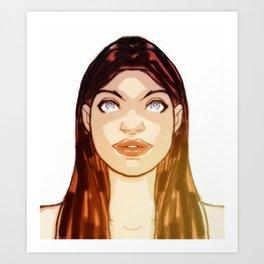 She_FullFace Art Print