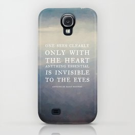 III. Anything essential is invisible to the eyes. iPhone Case
