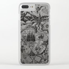 A Study In Imagination Clear iPhone Case