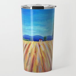 Summer Field landscape Travel Mug
