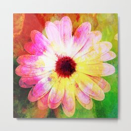 Making art with flower - original Metal Print