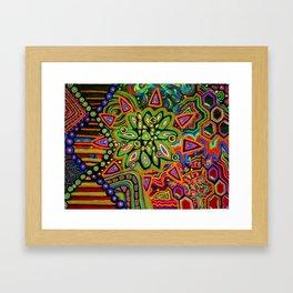 Molecular Monstrocity Framed Art Print