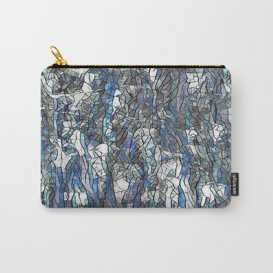Abstract blue 2 Carry-All Pouch