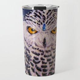 Snowy Owl Spirit Travel Mug