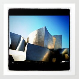 Walt Disney Concert Hall Art Print
