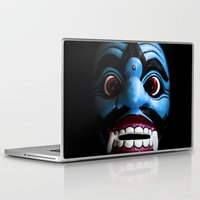 bali Laptop & iPad Skins featuring Bali mask by VanessaGF