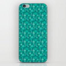 Green Dots iPhone & iPod Skin