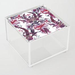 Merlot (dense pattern) Acrylic Box