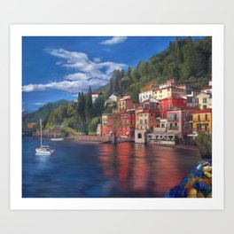 Beautiful Italy Art Print