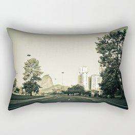Empty City #4 Rectangular Pillow