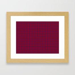 Hamilton Tartan Framed Art Print