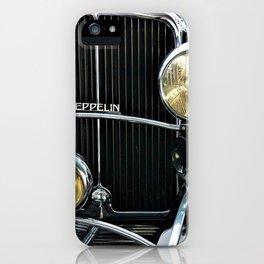 1930's Era German Zeppelin Vintage Automobile iPhone Case
