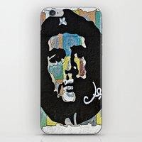 che iPhone & iPod Skins featuring Everywhere a Che, Che by Ethna Gillespie