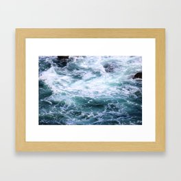 drown me in your beauty Framed Art Print
