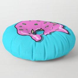 Donut time Floor Pillow