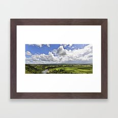 Manning Valley River Framed Art Print