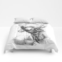 March Hare Comforters