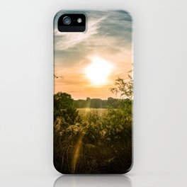 Perfectly Peaceful iPhone Case
