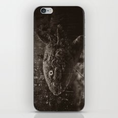 Axolotl Horst grey iPhone & iPod Skin