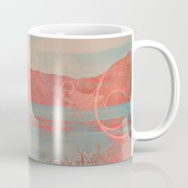 406 2 Coral Waterscape Coffee Mug