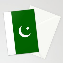 pakistan country flag Stationery Cards
