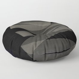 Abstract forms 56 Floor Pillow