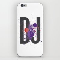 paramore iPhone & iPod Skins featuring Art DJ by Sitchko Igor