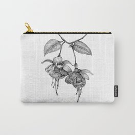 Trailing Fuchsia Carry-All Pouch