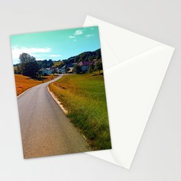 Country road, take me nowhere Stationery Cards
